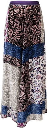 Forte Forte Mix-Print Maxi Skirt