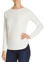 Foxcroft Baby Cable-Knit Sweater