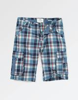 Fat Face Sandbanks Check Cargo Shorts
