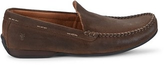 Frye Lewis Suede Driving Loafers