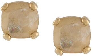 Goossens Stones rock crystal stud earrings