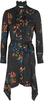 Tory Burch Cora floral-print shirt dress
