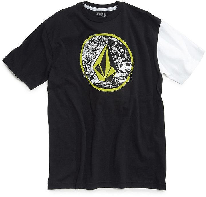 Volcom T-Shirt, Boys Punk Circle Tee