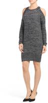 Juniors Cold Shoulder Sweater Dress
