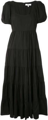 LIKELY Flared Midi Dress