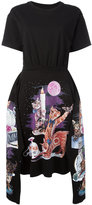 MM6 MAISON MARGIELA printed cats dress - women - Cotton - XS