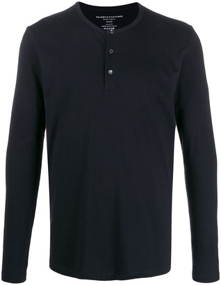 Majestic Filatures button-placket sweater