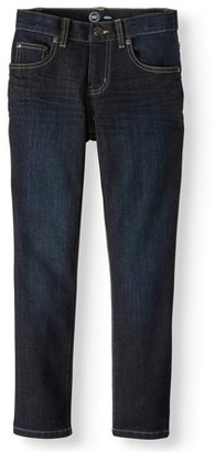 Wonder Nation Boys Slim Straight Jeans, Sizes 4-16 & Husky