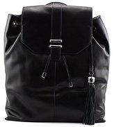 Dolce Vita Glazed Leather Backpack with Contrast Edge