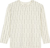 TINY COTTONS Letter print long-sleeved top 4-10 years