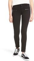 Vigoss Women's Edie Zipper Skinny Jeans