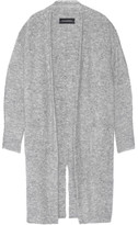 By Malene Birger Dittelis Stretch-knit Cardigan - Gray