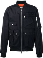DSQUARED2 multipocket bomber jacket - men - Cotton/Polyamide/Viscose - 52
