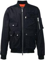DSQUARED2 multipocket bomber jacket