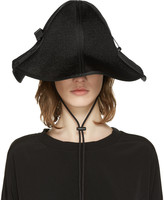 Y-3 Black String Bucket Hat