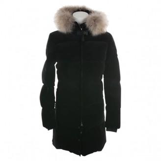 Parajumpers Black Velvet Coat for Women