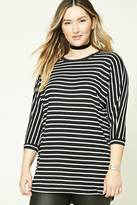 Forever 21 Plus Size Stripe Tunic