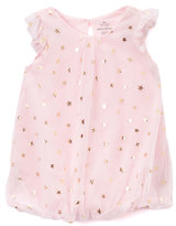 Baby Starters Pink & Gold Star Romper - Infant