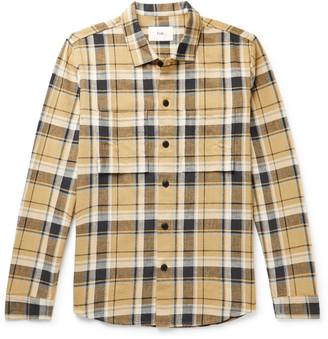 Folk Checked Cotton-Flannel Shirt