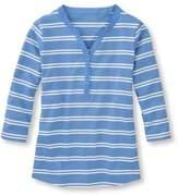 L.L. Bean Summer Pullover, Henley
