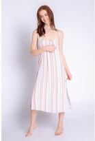 Thumbnail for your product : PJ Salvage Saturday Morning Stripe Dress, Multi Medium