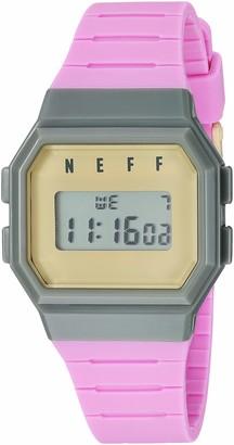 Neff Men's Flava Digital Athletic Water Resistant Watch Unisex