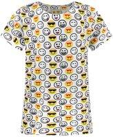 Universal Textiles Childrens/Girls Emoticon Official Design Sublimation T-Shirt