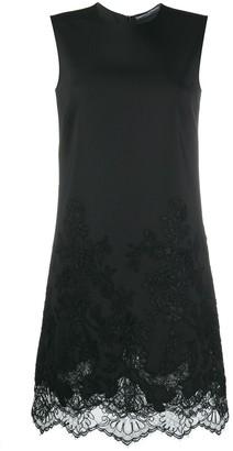 Ermanno Scervino Lace Hem Midi Dress