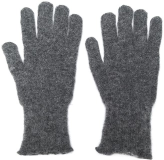 Agnona Knitted Cashmere Gloves