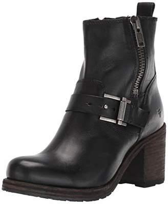 Frye Women's Karen Moto Zip Ankle Boot