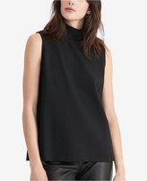 Lauren Ralph Lauren Sleeveless Mock Neck Shirt