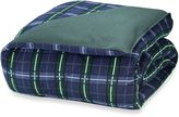 Bed Bath & Beyond The Seasons Collection® Reversible Flannel Comforter in Blackwatch/Forest Green