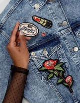 Aldo Rose Patch & Pins Set