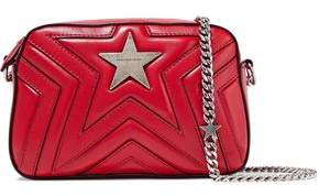 Stella McCartney Quilted Faux Leather Shoulder Bag