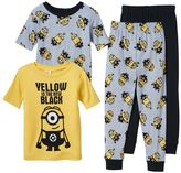 Boys 4-10 Despicable Me Minions 4-Piece Pajama Set