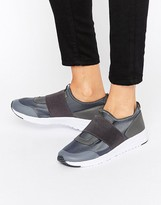 Missguided Elastic Strap Sneaker
