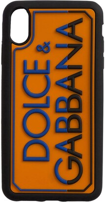 Dolce & Gabbana logo-lettering iPhone XS Max case