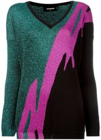 DSQUARED2 Tiger Flash jumper - women - Polyester/Viscose/Wool - S