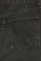 J Brand Ace cropped mid-rise boyfriend jeans