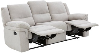 Albion Fabric 3 Seater Manual Recliner Sofa