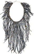 Nakamol Crystal Fringe Statement Necklace