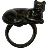 Christian Dior Black Ring