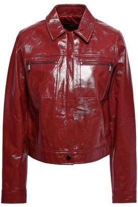 J Brand Patent-leather Jacket