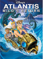 Disney Atlantis: Milo's Return DVD