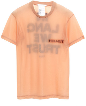Helmut Lang Printed Stretch-knit T-shirt