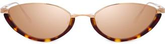 Linda Farrow Daisy C4 cat-eye sunglasses