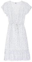 Rails Kiki Dress White Wisteria - xsmall