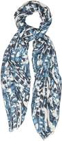 Reiss Nico Abstract Animal Print Scarf