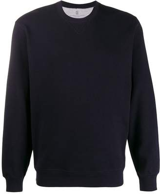 Brunello Cucinelli loose-fit plain sweatshirt