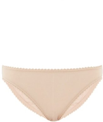 Araks Isabella Organic-cotton Briefs - Womens - Beige